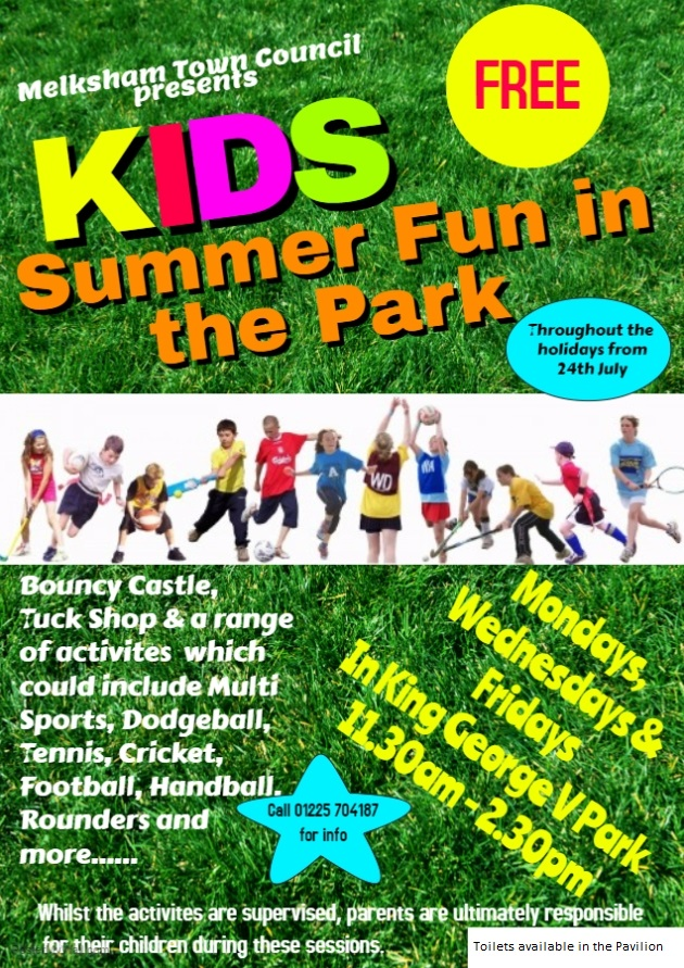 Kids Summer Fun Poster
